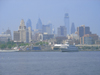 A view of the Philadelphia skyline